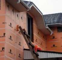 Чем закрыть пеноплекс на фасаде