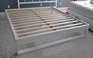Как сделать короб для кровати?