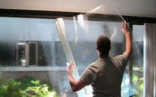 Защитная пленка на окна от воров