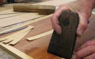 Как восстановить шпон на мебели?