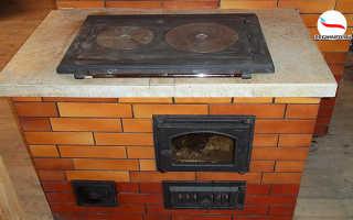 Мини печи из кирпича для дачного домика