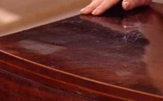 Как восстановить полировку на мебели?