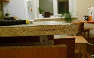 Как починить мебель из ДСП?