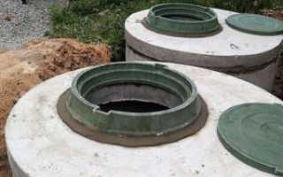 Строительство септика из бетонных колец своими руками