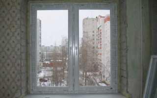 Как обшить окно пластиковыми панелями