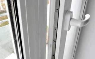 Как открыть новую пластиковую дверь?