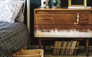 Как реставрировать лакированную мебель?