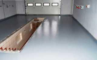 Как правильно залить бетонный пол в гараже
