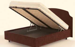Как крепятся ламели на кровати?