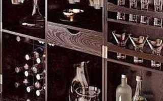 Шкаф с баром