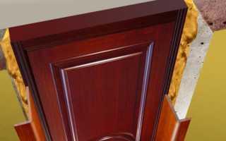 Как делать откосы на дверях из МДФ?