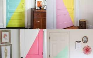 Как можно отреставрировать межкомнатные двери?