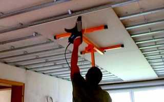 Важные моменты и рекомендации монтажа гипсокартона на потолок