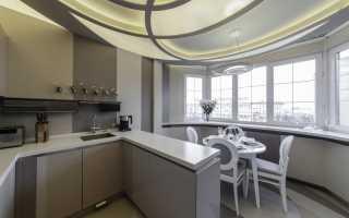 Кухни с балконом дизайн