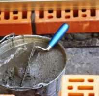 Готовая смесь для кладки печи из кирпича