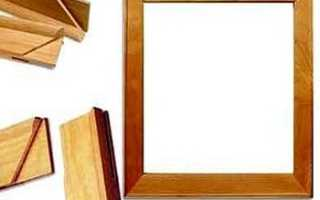 Как сделать овальную рамку из дерева?