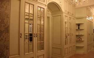 Как сделать из дверного проема шкаф?