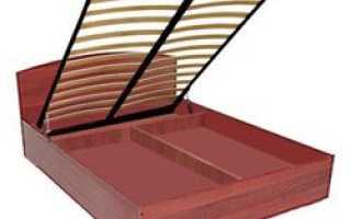 Как самому сделать подъемный механизм для кровати?