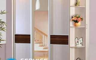 Как отсоединить зеркало от двери шкафа?