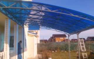 Изделия из поликарбоната для дачи