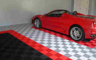Покрытие бетонного пола в гараже что лучше