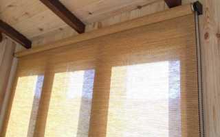 Рулонные шторы на деревянные окна с форточкой