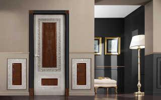 Как задекорировать деревянную дверь?