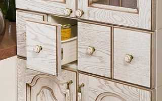 Что такое патинирование мебели?