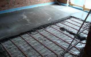 Толщина бетонного пола в частном доме