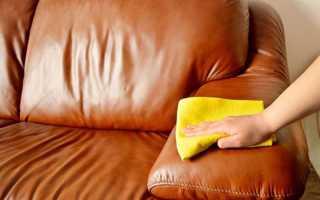 Как оттереть ручку от кожзаменителя дивана?