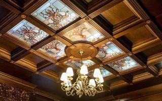 Mонтаж кессона на потолок своими руками проекты эскизы