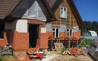 Как правильно обложить дом облицовочным кирпичом