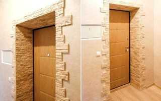 Как оформить откосы межкомнатной двери?