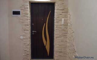 Как убрать конденсат на входной железной двери?