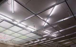 Акриловые подвесные потолки особенности плюсы и минусы