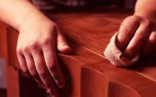 Как убрать царапины с деревянной двери?