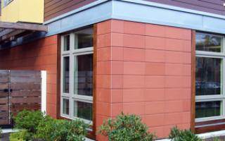 Размеры керамогранитной плитки для фасадов