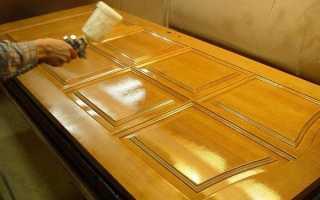 Как покрасить новую деревянную дверь?