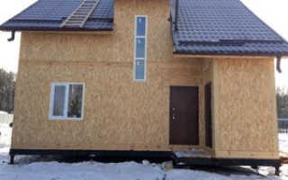 Фасад дома сип отделочные материалы
