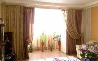 Как правильно выбрать шторы для зала
