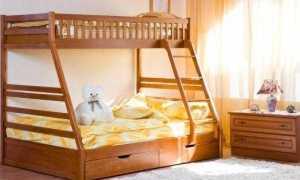 Какой брус использовать для двухъярусной кровати?