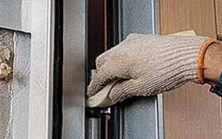 Как настроить железную входную дверь?