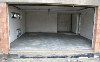 Какой бетон нужен для пола в гараже