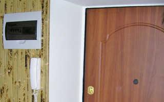 Чем заделать щель после установки входной двери?