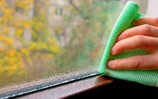 Пластиковые окна потеют и текут что делать