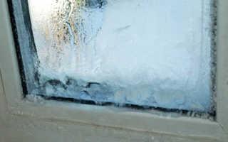 Чем помыть окна чтобы не замерзали зимой