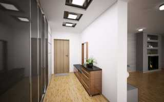 Гипсокартонные потолки в коридоре фото