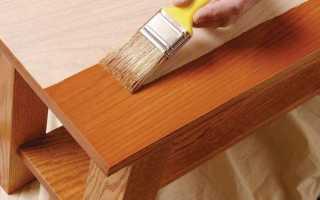 Как правильно покрасить деревянную мебель?