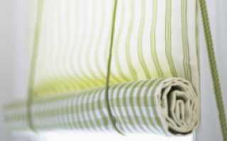 Можно ли сшить рулонные шторы своими руками