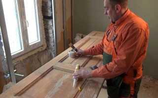Как преобразить старые межкомнатные двери?